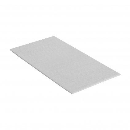 Filcové podložky 120x240mm, samolepící, bílé, 1 ks