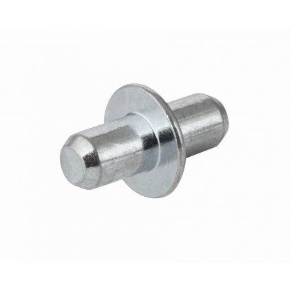 Podpěrka polic s límcem Ø 5mm, 8 ks