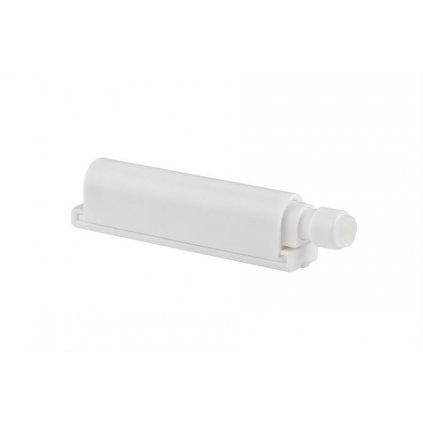 Systém otvírání bezúchytkových dvířek Push to open, 74x14mm, bílý