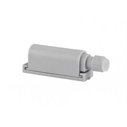 Systém otvírání bezúchytkových dvířek Push to open, 50x14mm, šedý