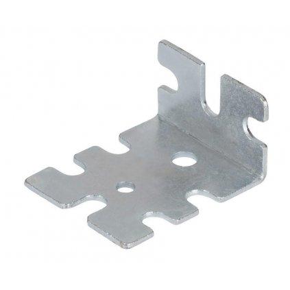 Spojovací úhelník, 50x41x26mm, pozinkovaný