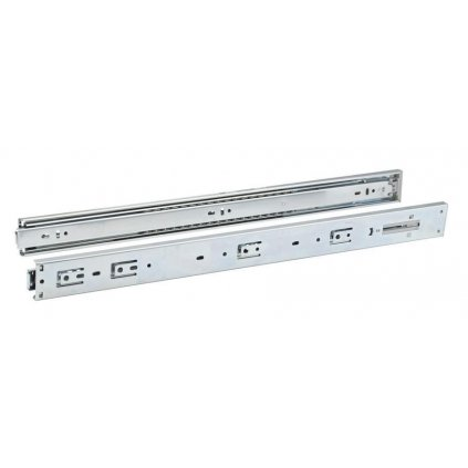 Plnovýsuv PUSCH 550mm pro bezúchytkovou zásuvku, 25 kg, 1 pár