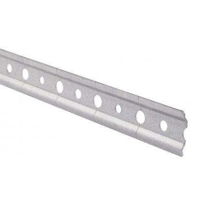 Závěsná lišta pro horní skříňky 1000mm, 30x1,5mm,  nosnost 110 kg