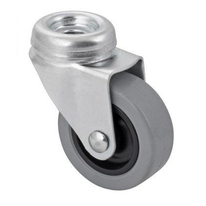 Přístrojové kolečko pro tvrdé podlahy, otočné, Ø 50 mm