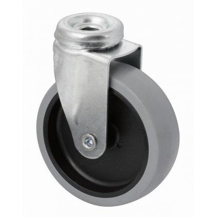 Přístrojové kolečko pro tvrdé podlahy, otočné, průměr 100 mm