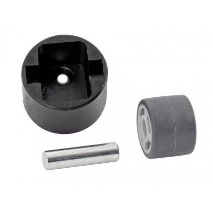 Kontejnerové kolečko pro tvrdé podlahy, průměr 25 mm