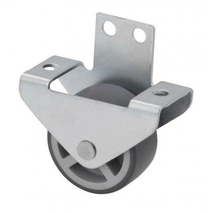 Skříňové kolečko pro tvrdé podlahy Ø 30 mm