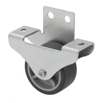 Skříňové kolečko pro tvrdé podlahy, průměr 40 mm