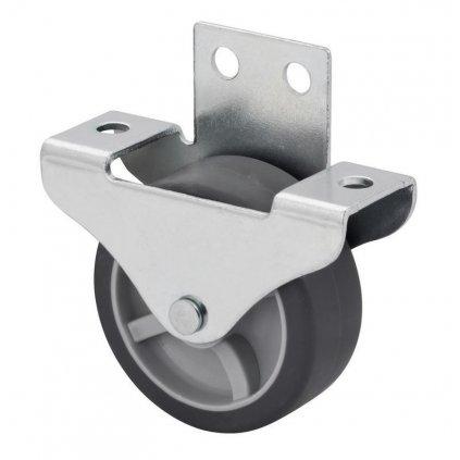 Skříňové kolečko pro tvrdé podlahy Ø 50 mm