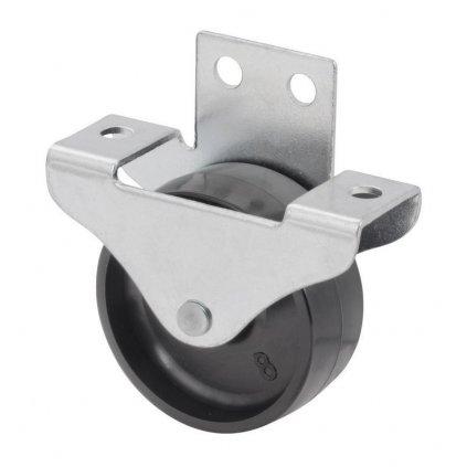 Skříňové kolečko pro měkké podlahy, průměr 50 mm, nosnost 60 kg