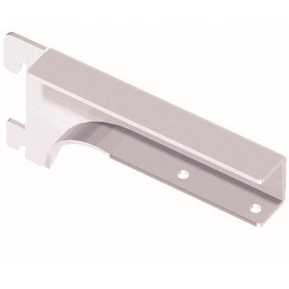 Nosník pro dřevěné police 19-22mm, 150mm, bílý, 1 pár