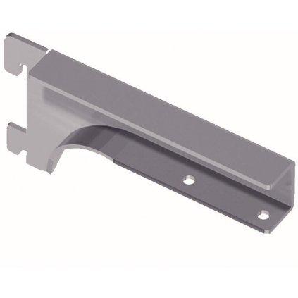 Nosník pro dřevěné police 19-22mm, 150mm, stříbrný, 1 pár
