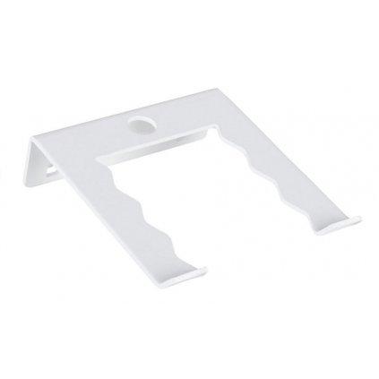 Držák na nářadí - jednoduchý 63x20x75mm, bílý