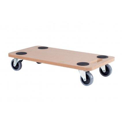 Transportní deska pro tvrdé podlahy, 580x290mm, nosnost 200 kg