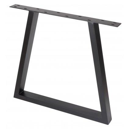 Rám pod stoly, 730 x 780 mm kónický, černý