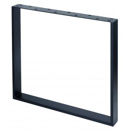 Rám pod stoly, 730 x 780 mm hranatý, černý