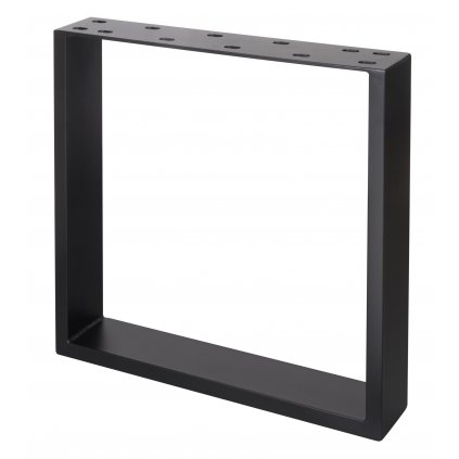 Rám pod stoly hranatý, 420 x 450 mm, černý
