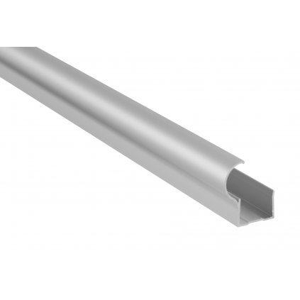 Madlo pro posuvné dveře 2700mm, matný elox, Aluminium