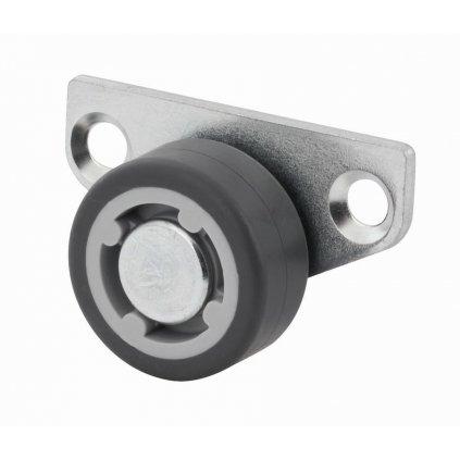 Boční skříňové kolečko pro tvrdé podlahy, průměr 30 mm
