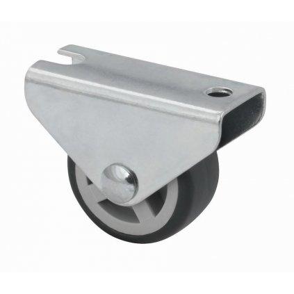 Skříňové kolečko pro měkké podlahy 35x21x45mm, průměr 30 mm