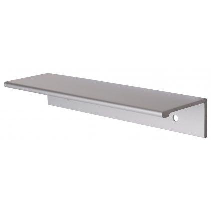 Nábytková úchytka Monaco délka 148mm, Aluminium/matný chrom