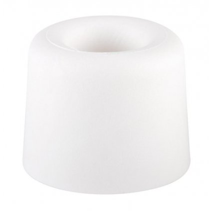 Dveřní zarážka Ø 29,5x25mm, bílá