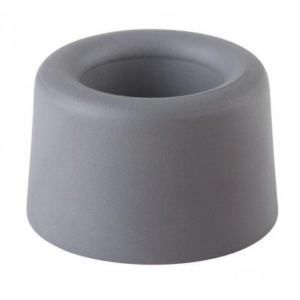 Dveřní zarážka Ø 40x25mm, šedá