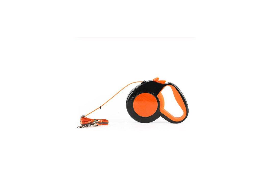 Reflexní vodítko (Barva Oranžová, Délka 5m)