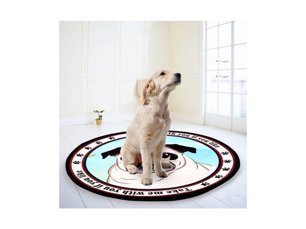 Protiskluzová podložka pod psa