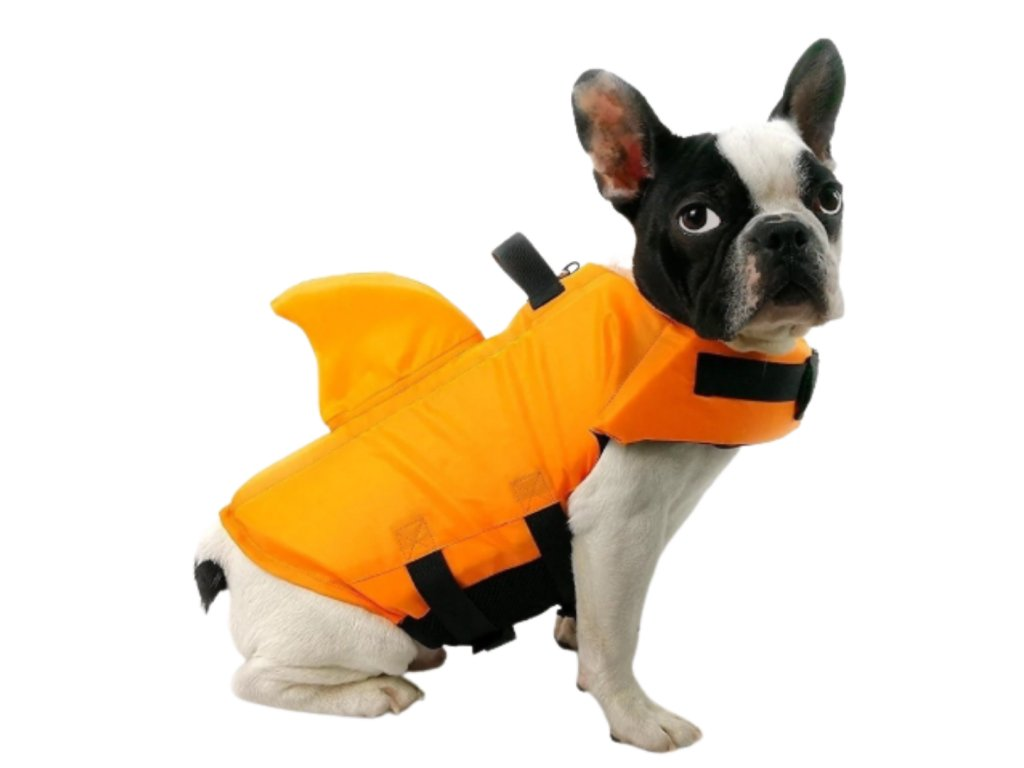 plovaci vesta pro psa zralok