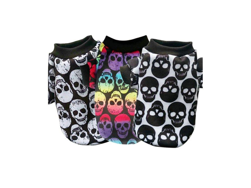 Tričko - scary (Barva Lebka 1, Velikost 3XL)