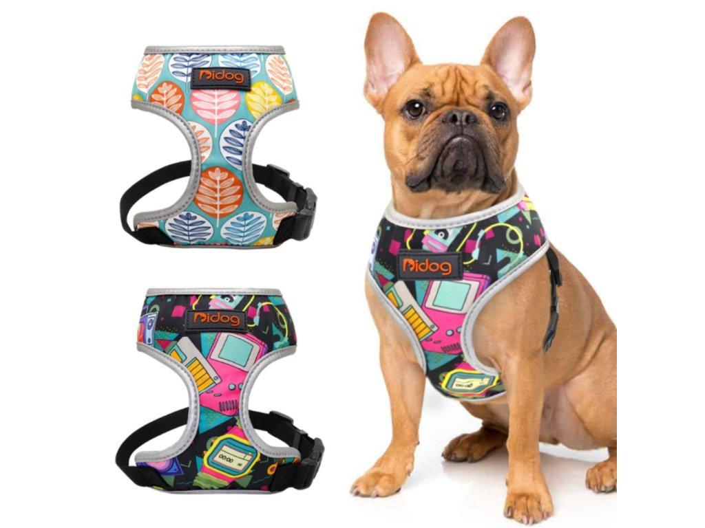 postroje pro psa reflexni wanteddog