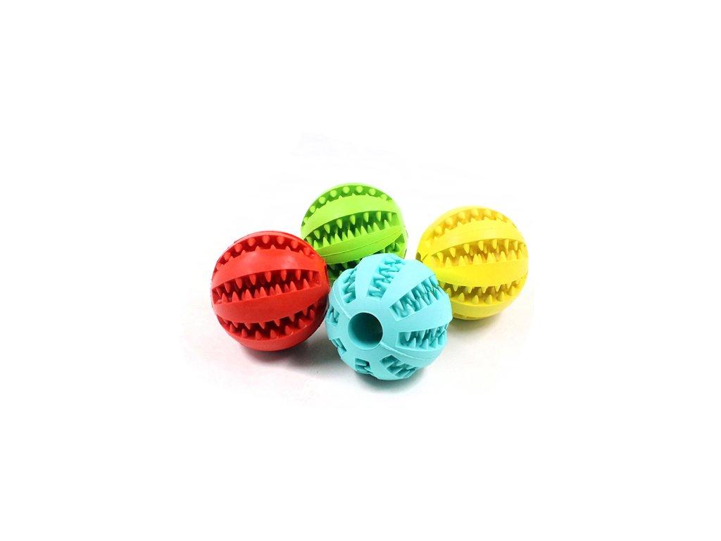 Hračka pro psa míček s pamlsky