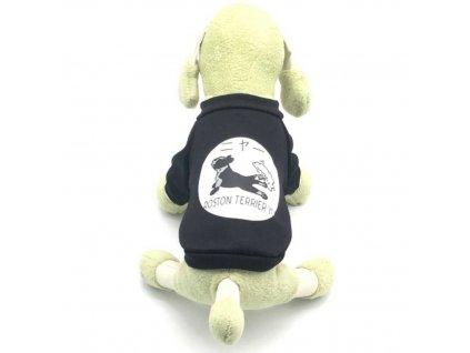 boston terrier mikina wanteddog