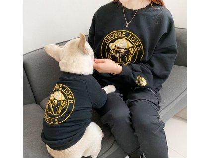 mikina french bulldog