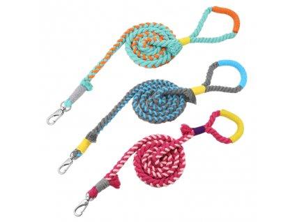 Pletené lanové vodítko pro psa