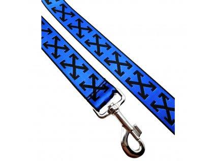 nylonove voditko modre X 1