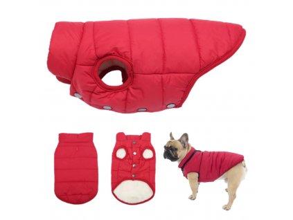 zimni bunda pro psa