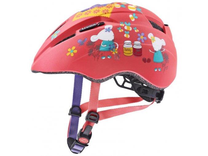 uvex kid 2 cc coral mouse mat 46 52 2021 detska cyklisticka helma 11734486