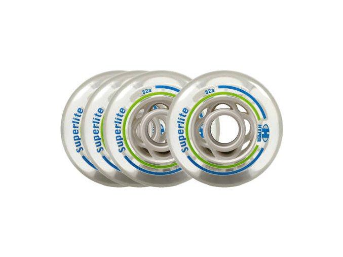 hyper superlite roller blade wheels 4 pack