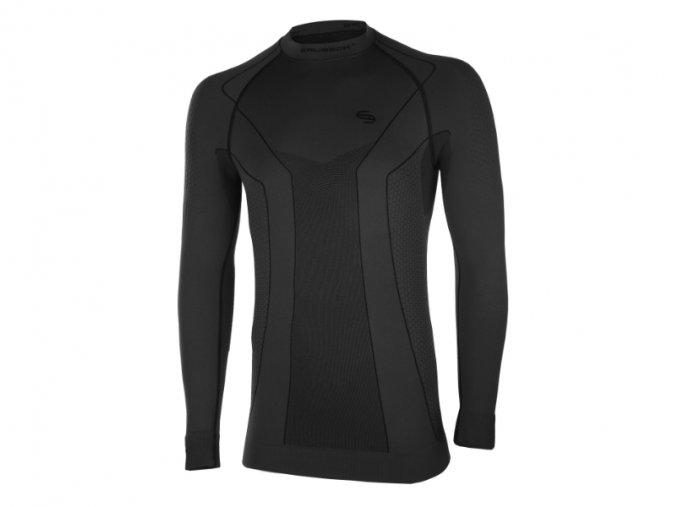 Brubeck Thermo Mens Sweatshirt LS10680 black