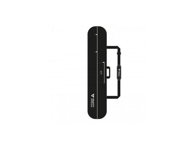 obal na snowboard gravity icon black 2