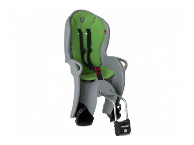28136 hamax kiss 551044 detska zadni cyklosedacka seda zelena