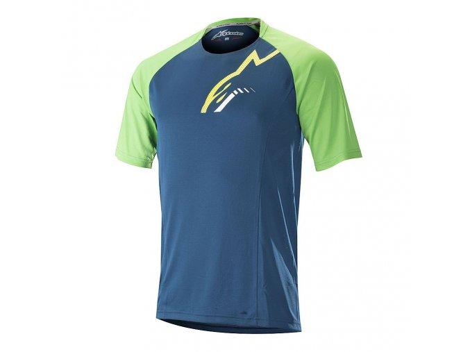 as jersey trailstarSS poseidonblusummergreen