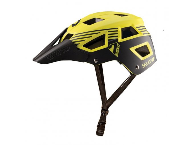 seven helmet M5 yellow