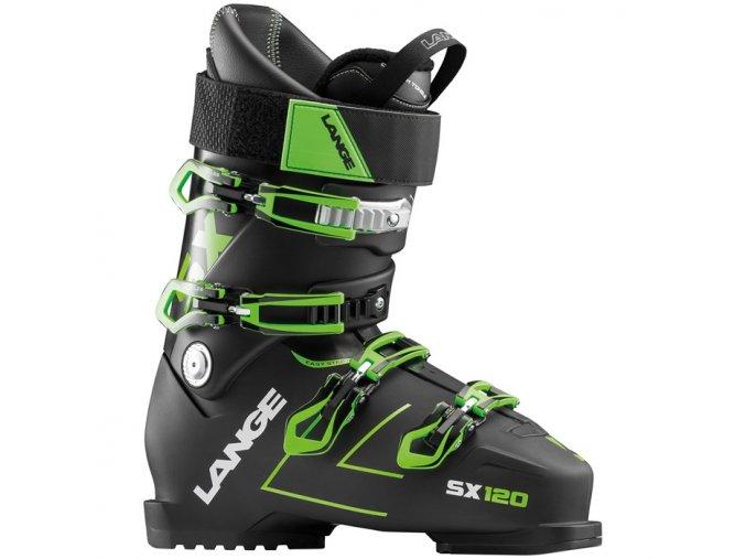 lange sx 120 ski boots 2019 tr black green