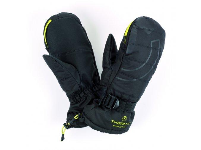 glo warmer ready gloves junior lime 40