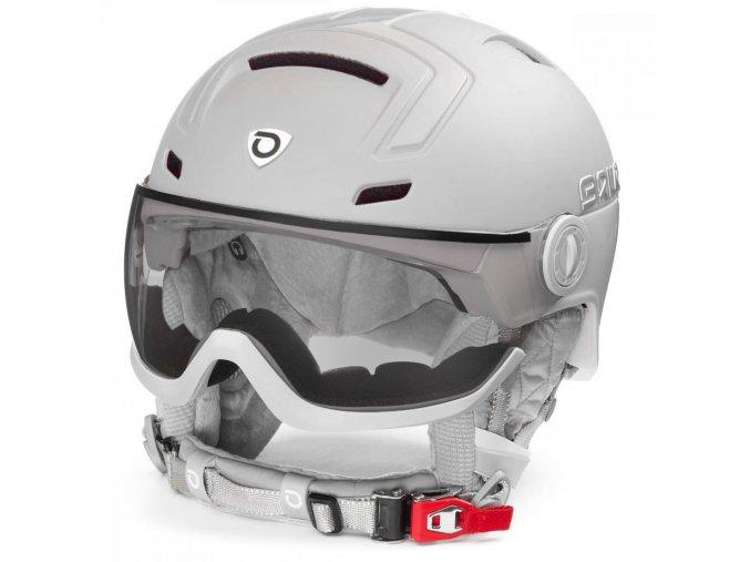 casque de ski briko ambra visor photo 20 matt sh pearl