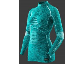 i100669 a619 energy accumulator evo melange shirt turtle neck long woman front