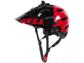 bell super 2 mountain bike helmet for men and women in black red aggression p 9778c 09 1500.3